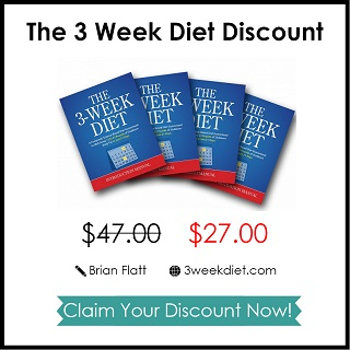 Brian Flatt's 3 Week Diet System Review & Special Discount